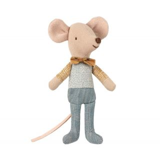 Maileg Little Brother Mouse in Box (10 cm) Racemouse