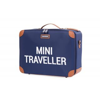 Childhome Mini Traveller Kinderkoffer - Navy Wit